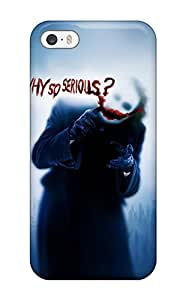 Awesome BntZKZq2184DYAEY ThomasSFletcher Defender Tpu Hard Case Cover For Iphone 5/5s- The Joker, Why So Serious