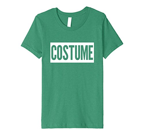Kids PREMIUM FUNNY HALLOWEEN COSTUME T-SHIRT [OUTFIT & GIFT IDEA] 12 Kelly Green