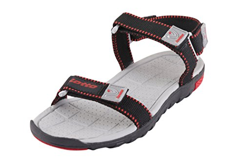 Lotto Men's Sandal Zack Black Red GT8064