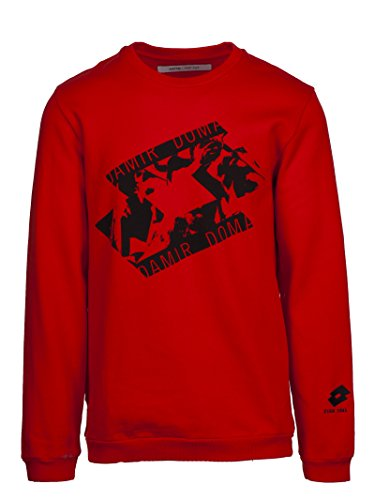 DAMIR DOMA X LOTTO Men's Cs1m0107j153044 Red Cotton Sweatshirt