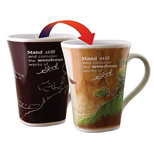 Color Changing Mug - Wondrous Story - Large 16 Ounce - Porcelain