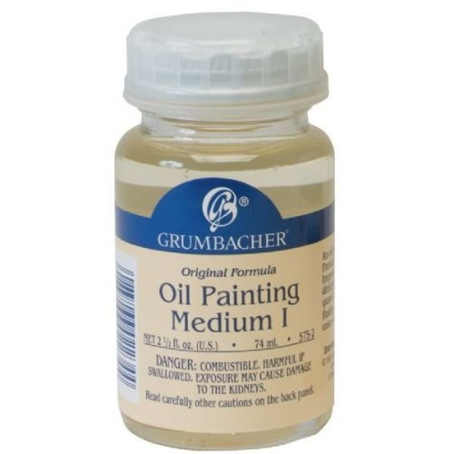 Grumbacher #1 Oil Painting Medium 2.5oz CHARTPAK