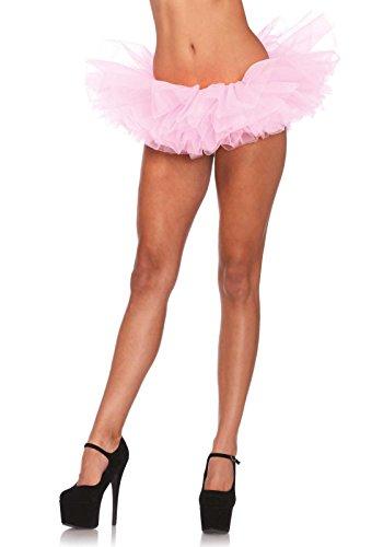 Leg Avenue Women's Organza Tutu, Light Pink, One Size -