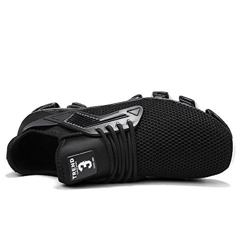 En 2 Zapatos Zapatillas Asfalto Para Correr Running Libre Sneakers Aire Deportes Montaña negro Hombre Y De 61z6qwrYn