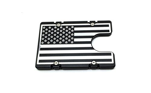 Aluminum Wallet with RFID Protection American Flag (American Protection)