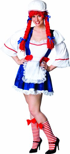 Secret Wishes Full Figure Rag Doll Costume,