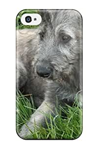 Iphone Case - Tpu Case Protective For Iphone 4/4s- Irish Wolfhound Puppies