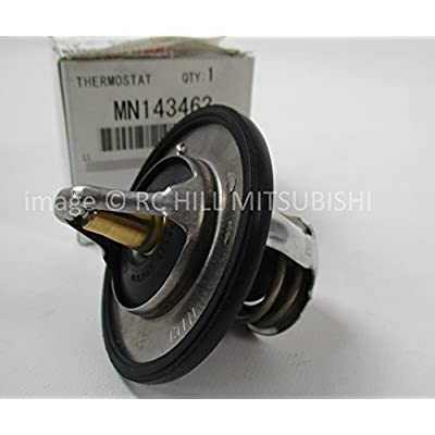 MITSUBISHI MN143463 GENUINE OEM FACTORY ORIGINAL THERMOSTAT CT9A EVO 2.0L TURBO DOHC 2003-2006: Automotive