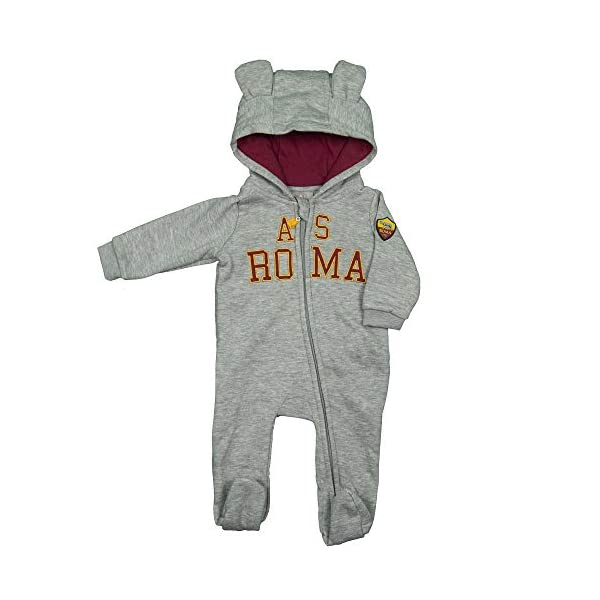 AS Roma Tutina in Felpa con Zip R13866 3
