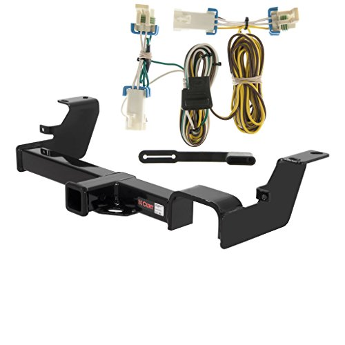 CURT Class 3 Trailer Hitch Bundle with Wiring for Buick Rendezvous, Pontiac Aztek - 13469 & 55383
