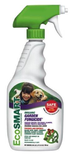 Organic Roses Fungicide (EcoSmart 33118 Organic Garden Fungicide, 24 oz Ready-to-Spray Bottle)