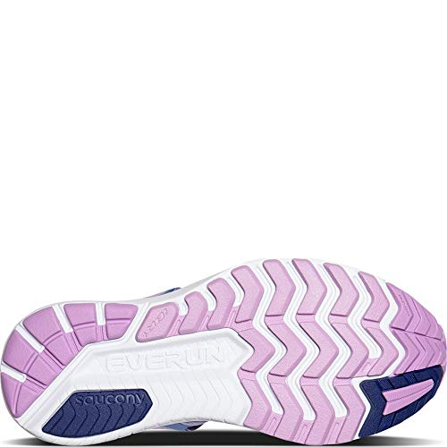 Saucony Ride ISO Wide Women 8 Blue | Navy | Purple