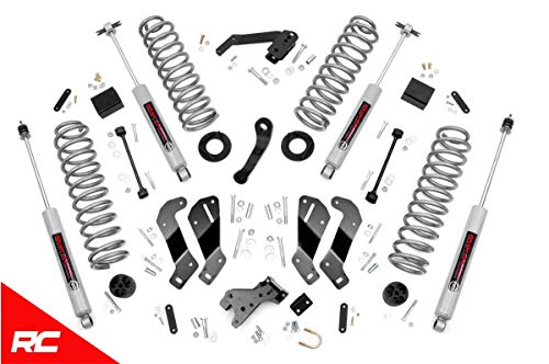 ift Kit Compatible w/ 2007-2018 Jeep Wrangler JK 4DR w/ N3 Shocks Suspension System 69430 ()