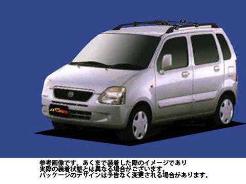 システムキャリア ワゴンRプラス 型式 MA63S SGシリーズ 1台分 単体積み タフレック TUFREQ 精興工業 B06Y12SHLR