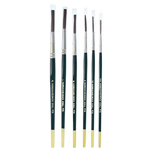 MACK Hannukaine Quill Pinstripe Brush/Brushes Set