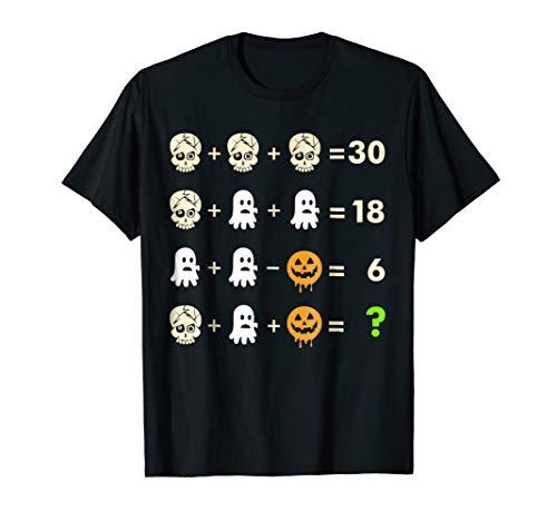 Math Teacher Halloween Shirt ()
