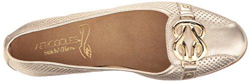 Leather Black US 5 Women's Gold M Bet Leather Ballet Flat Aerosoles High ZYg6wqx