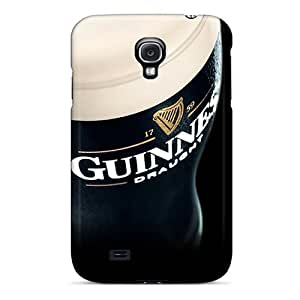 Anti-scratch And Shatterproof Guinness Beer Phone Case For Galaxy S4/ High Quality Tpu Case
