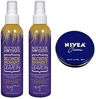 product image for Not Your Mother's 2 Pack Blonde Moment Seal & Protect Leave-In Conditioner 6 Oz.+ Travel Size Body Cream 1 Oz.