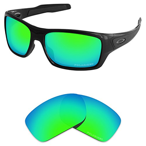 65f4aba5ad Tintart Performance Lenses Compatible with Oakley Turbine Polarized Etched