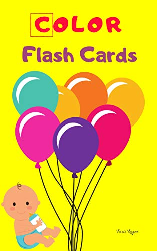 Amazon.com: Color Flash Cards: Flash Cards for Toddlers ...
