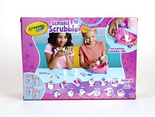 41u55C vf%2BL - Crayola Scribble Scrubbie, Toy Pet Playset,Gift for Kids, Age 3, 4, 5, 6