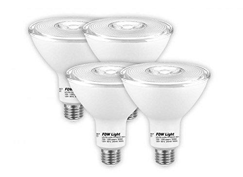 Wakoola New 90 Watt Equivalent SlimStyle PAR38 LED Light Bulb 3000K 4 Pack P04
