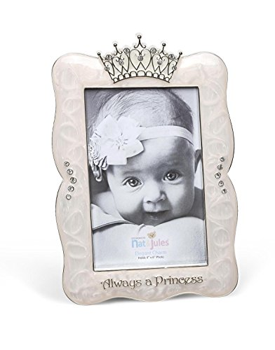 DEMDACO Crown Photo Frame, Always A Princess, 4