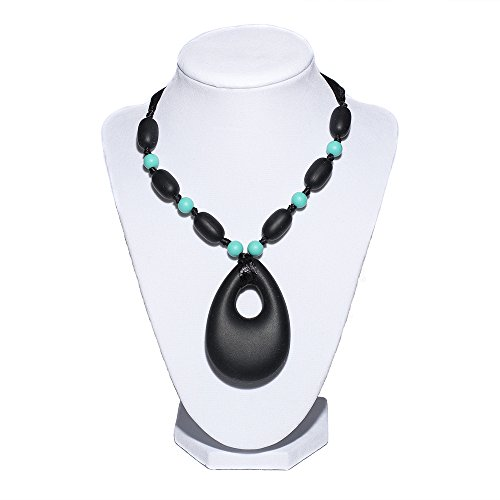 Stylish Silicone Teething Necklace for Mom & Baby