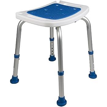 Amazon Com Medokare Shower Stool With Padded Seat
