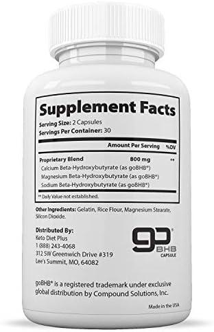 Keto Ultra Shred Diet Pills - Keto Advanced Weight Loss Fat Burners for Women and Men | Keto BHB Salts to Burn Fat Fast on Keto Diet | Ketogenic Keto Slim Supplement |Exogenous Ketones - 60 Count 2