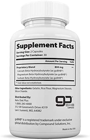Best Keto Fit Diet Pills – Ketogenic Keto BHB Salts Supplement Keto BHB Supplement for Women and Men Keto Diet Pills for Beginners Exogenous Ketones 60 Ketosis Pills 30-Day Supply