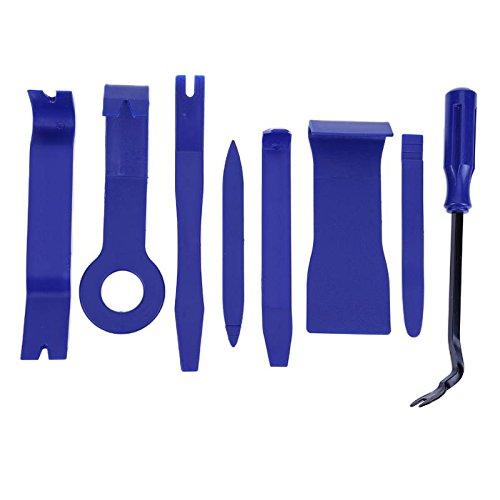 Yichener Lot de 4//7//8 Outils en Plastique pour Tableau de Bord avec Pince de d/émontage et Ouverture pour r/éparation de t/él/éphone PC
