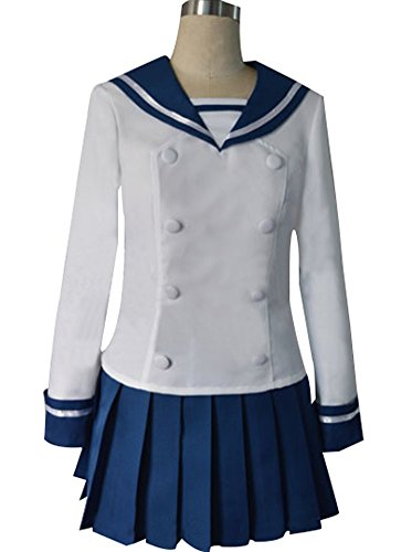 Mtxc Women's Ga-Rei Zero Cosplay Kagura Tsuchimiya School Uniform Size X-Large - Ga Rei