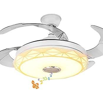 Fandian 42 Quot Modern Retractable Smart Ceiling Fans With