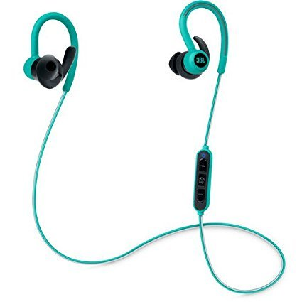 JBL Reflect Contour Bluetooth Wireless Sports Headphones Teal