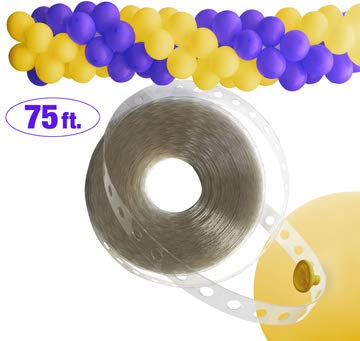 Twerp Balloon Arch Strip | Long! 75ft | Easy to Use | Great Alternative to Balloon Arch Kits ()