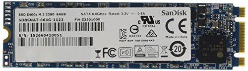 Z400s SSD drive 64gb m.2 2280 by SanDisk