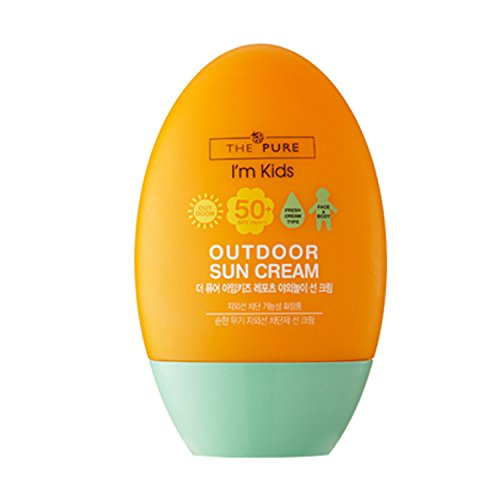 [The Pure] I'm Kids Out Door Sun Cream 50+ SPF+++ 60g / 2.2 oz by The Pure