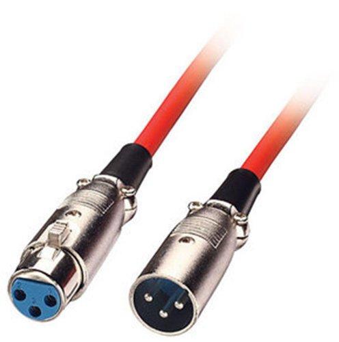 22 opinioni per LINDY 6043- Cavo audio XLR- maschio a femmina- Rosso – 3m