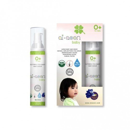 Butterpea Baby Hair Growth Enhancing Serum 100% natural 50mL by Ai+aoon Baby