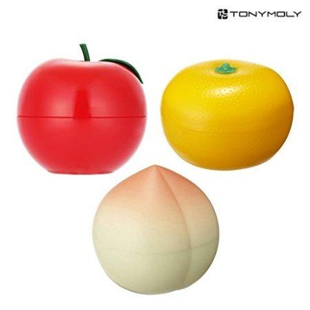 [TONYMOLY] Fruit Hand Cream (3 Set (Red Apple + Tangerine + Peach))