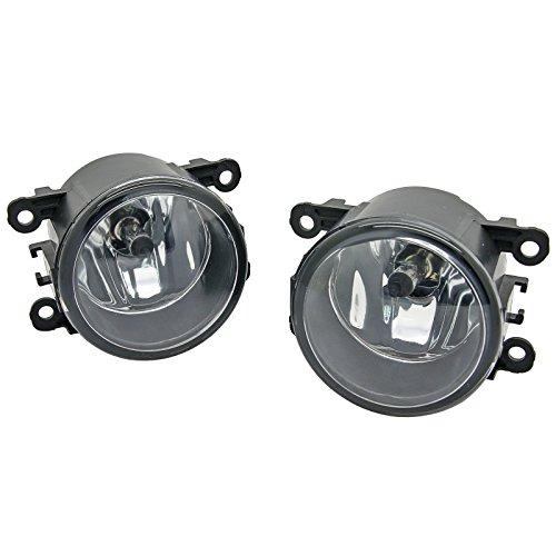 2 pcs LH=RH Front Bumper Fog Light Lamp Fit Mitsubishi Triton L200 ML (Lamp Lh Bumper)