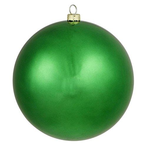 Vickerman Matte Xmas Green Commercial Shatterproof Christmas Ball Ornament 6