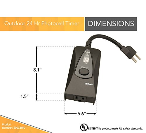 how to set woods 50013 timer