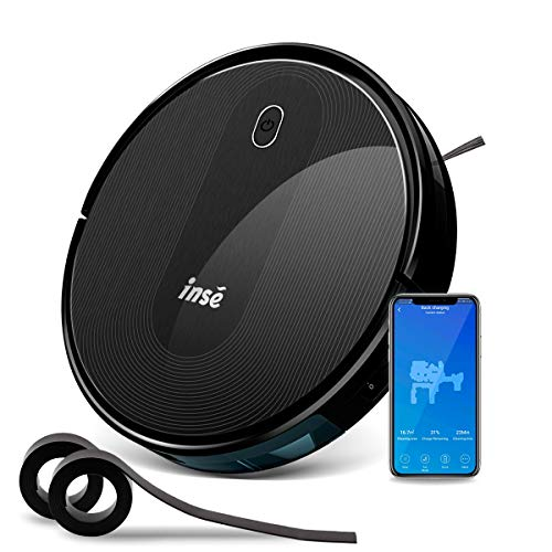 Best Prices! Robot Vacuum Cleaner with Self Charging and 1800Pa Powerful Suction, Works with Alexa G...