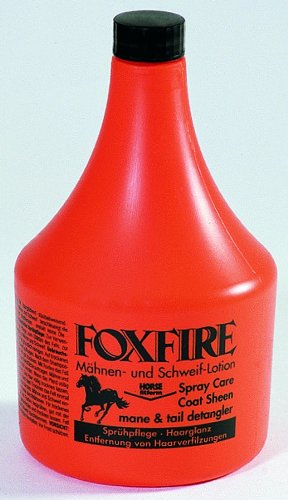 Pharmaka Horse Care Foxfire Coat Polish with Sprayer 1000 ml