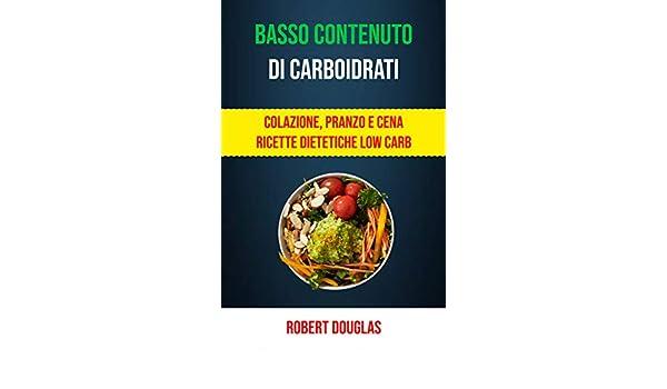 pasto dietetico a basso contenuto di carboidrati