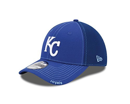 MLB Kansas City Royals Neo Fitted Baseball Cap, Royal, Small/Medium -