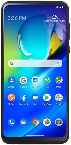 (Free $20 Airtime Activation Promotion) TracFone Motorola Moto G Power 4G LTE Prepaid Smartphone (Locked) - Black - 64GB - Sim Card Included - CDMA